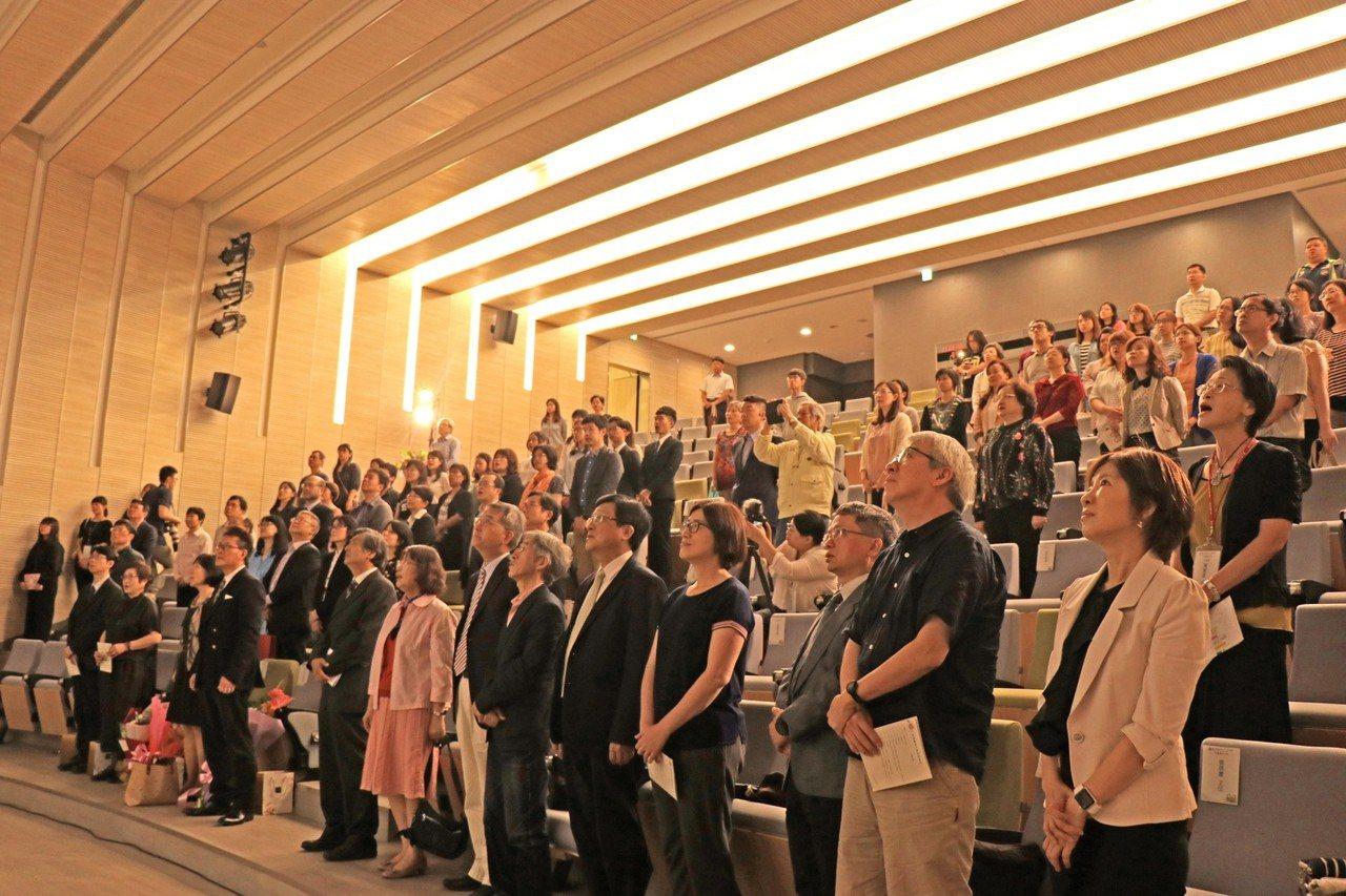 政大今天舉行92周年校慶慶祝大會。圖/國立政治大學提供