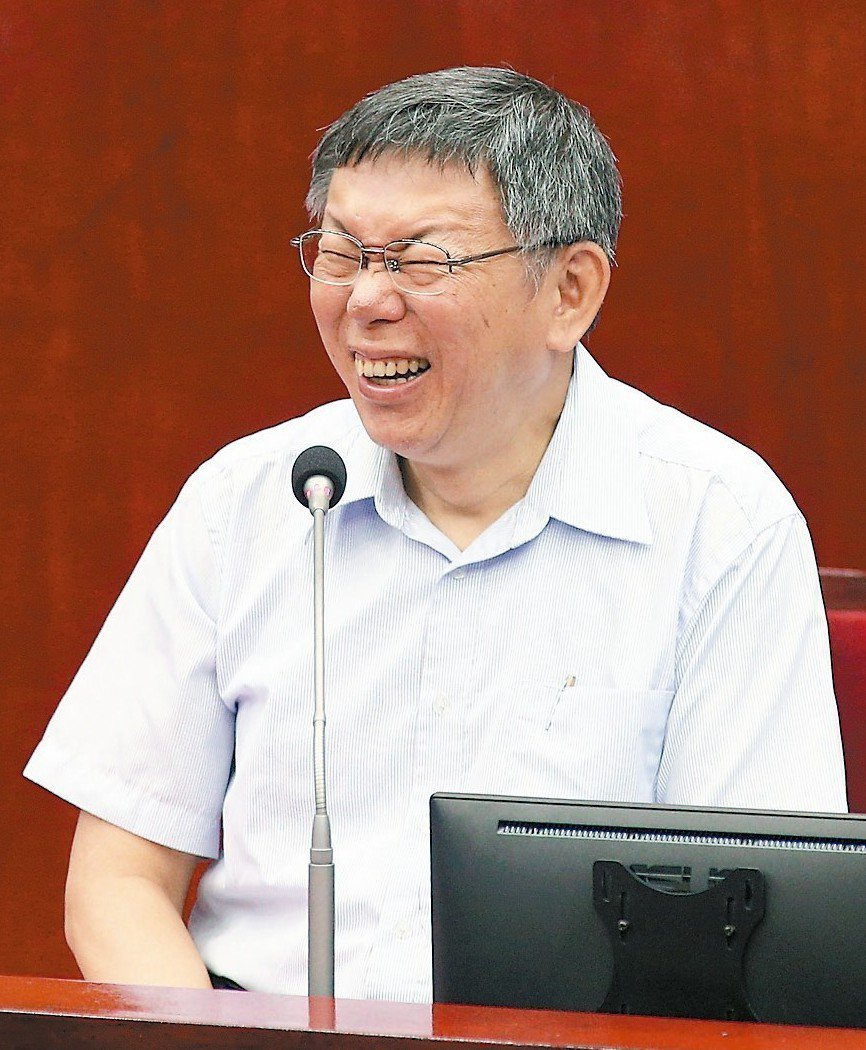 台北市長柯文哲。 記者蘇健忠/攝影