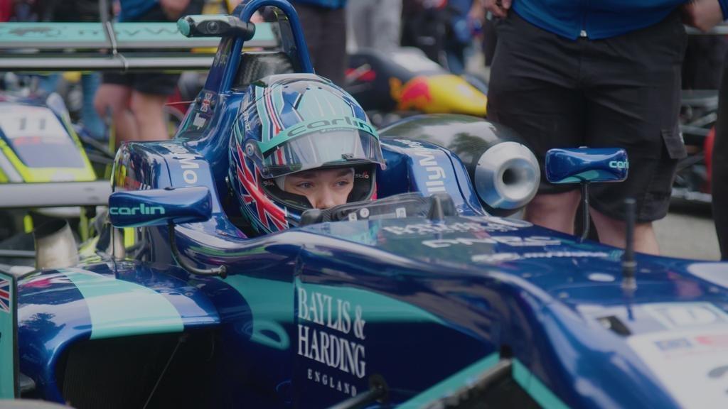 今年Monger轉戰歐洲方程式公開錦標賽,繼續為卡林車隊(Carlin Moto...
