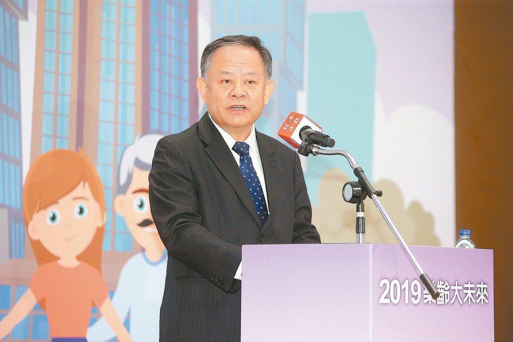 華南金暨華銀董事長張雲鵬 記者余承翰/攝影