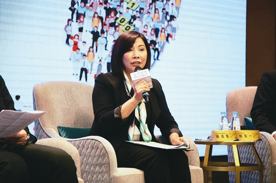 針對退休生活,中國信託銀行個金營運總處總處長楊淑惠認為,時間就是金錢,愈早開始規...