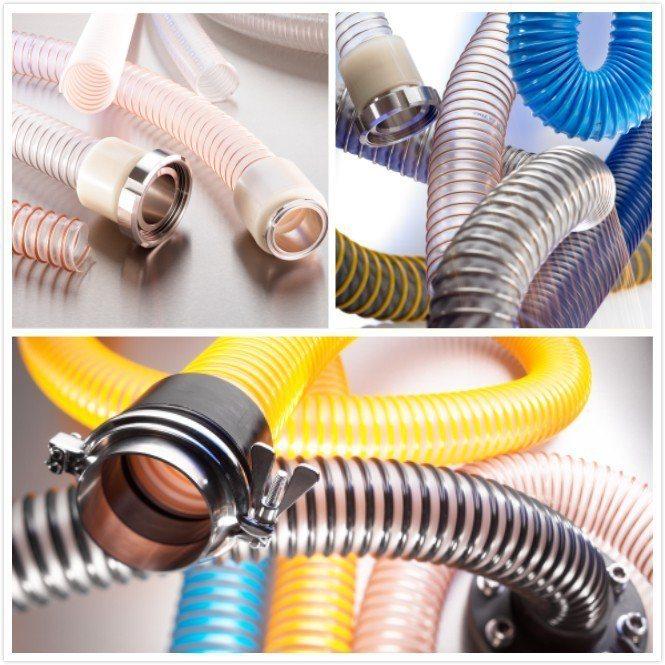 德國諾銳NORRES工業軟管具有耐高溫、耐壓力、耐磨損等優越性能。禾欣/提供