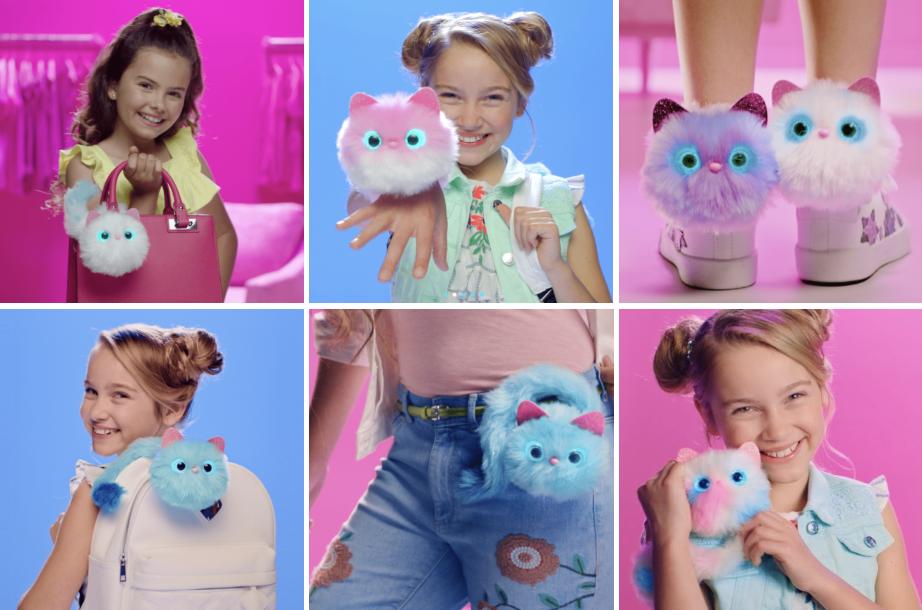 专利互动可穿戴玩具Pomsies,被列为2018年美国毛绒玩具类全美销量第一。(祁梦媛提供)