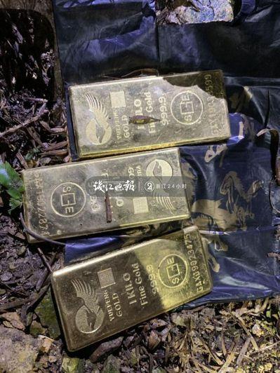 男子偷200萬現金換成5公斤黃金沒花完埋在這地方。 圖/取自錢江晚報
