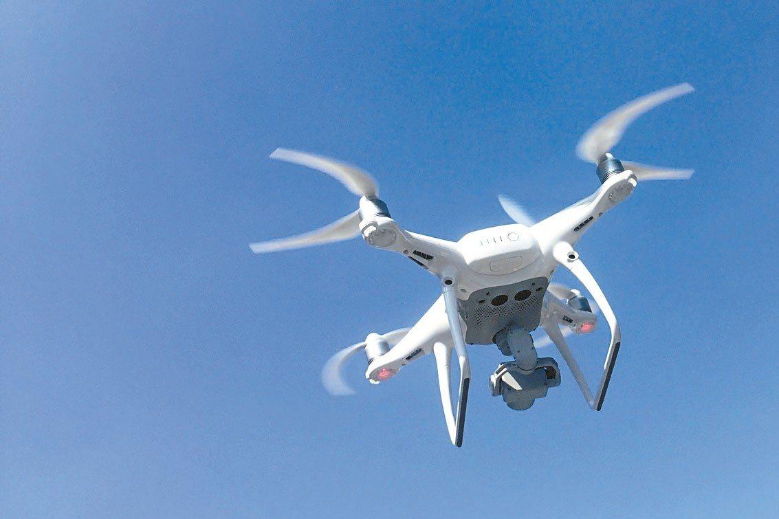 80%在美國和加拿大使用的無人機,都是中國大陸大疆創新科技公司所製造。圖為該公司...