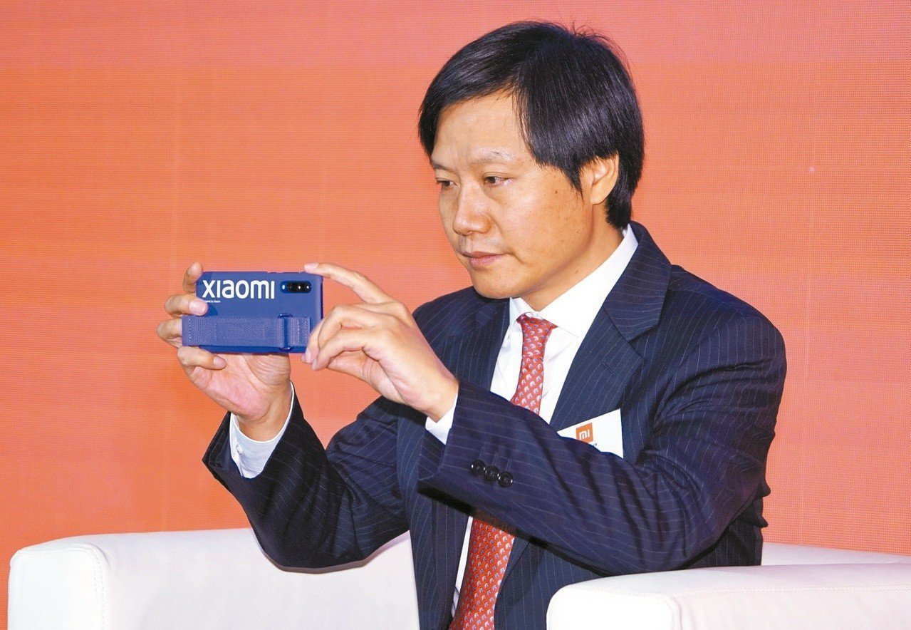 圖為小米集團董事長雷軍資料照片。 香港中通社