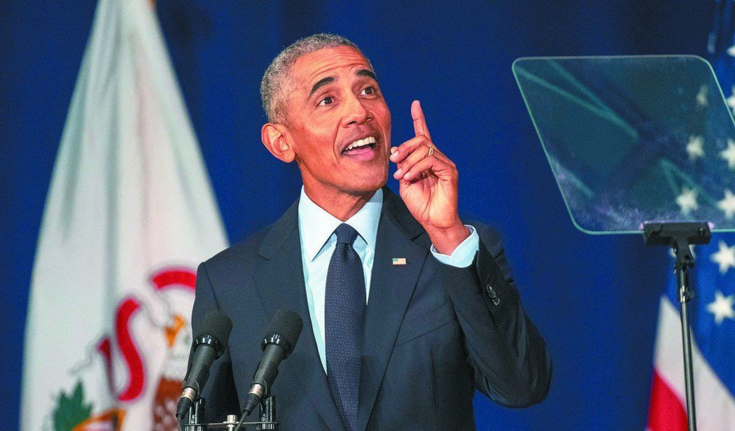 美國前總統歐巴馬。(美聯社)