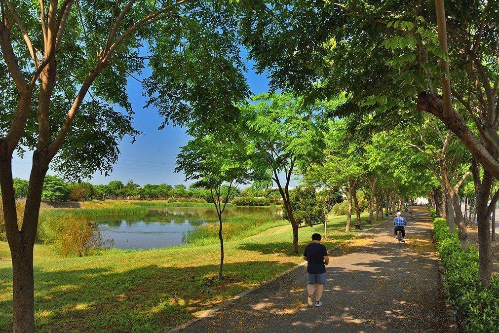 典寶溪濕地公園。圖片提供/誠佑實業