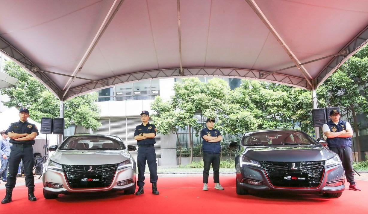 嫌犯想逃要先跑贏它 LUXGEN提供兩台S5 GT225作為新北警用偵防車