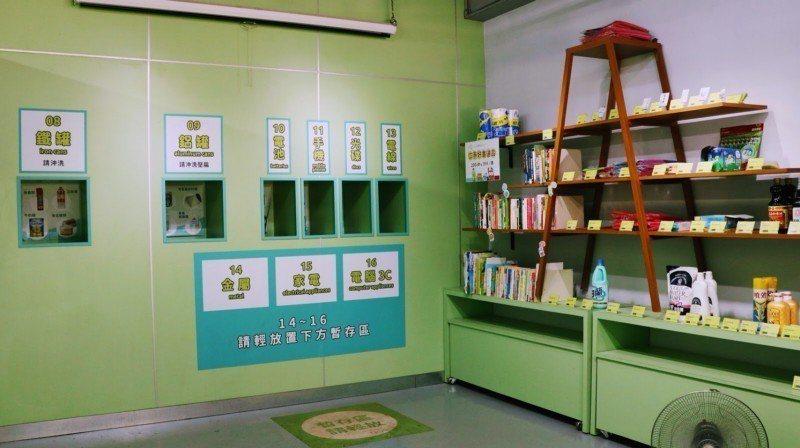 Zero Zero城市環保店內相當乾淨整潔,和一般回收場給人髒亂的印象有所不同。...
