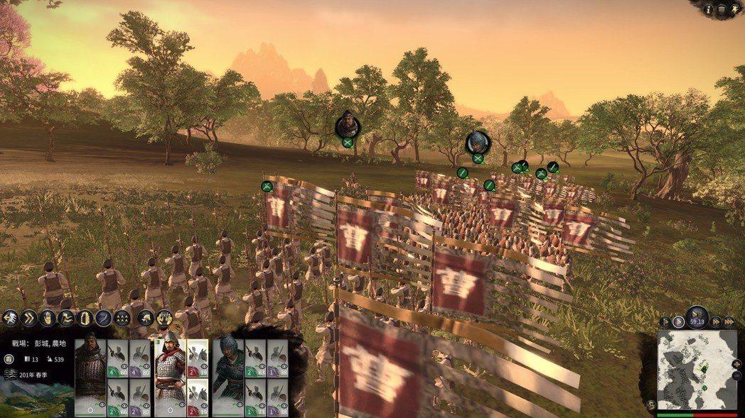 《全軍破敵:三國》的戰鬥畫面一如既往地讓人熱血沸騰。