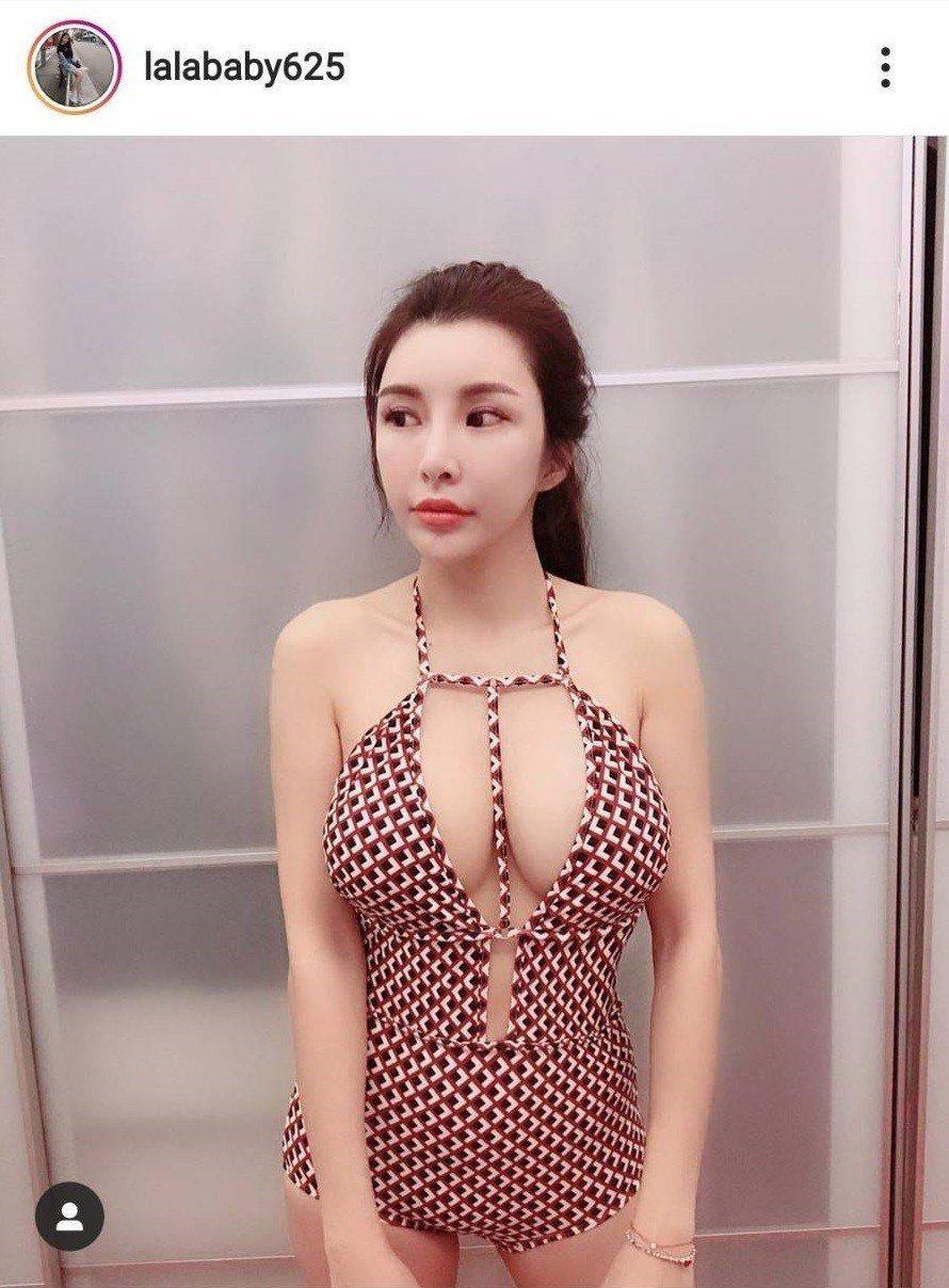 「國光女神」蘇心甯火辣泳裝照網友大讚超美。圖/摘自蘇心甯IG