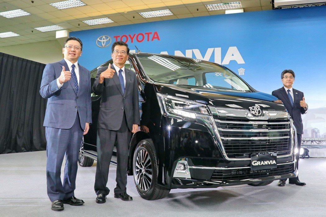 TOYOTA台灣總代理和泰汽車導入全新Granvia商旅車,正式跨足台灣商旅車市...