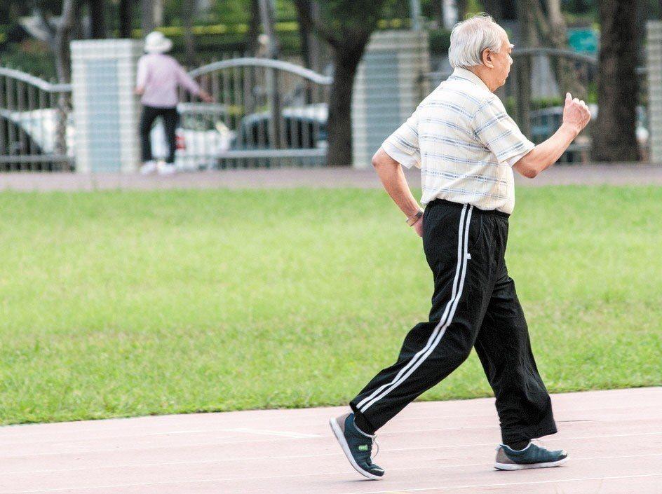 研究指出,快走的人壽命較長。圖/資料照片