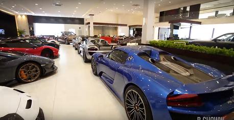 影/杜拜最大豪車超跑經銷商到底長什麼樣?