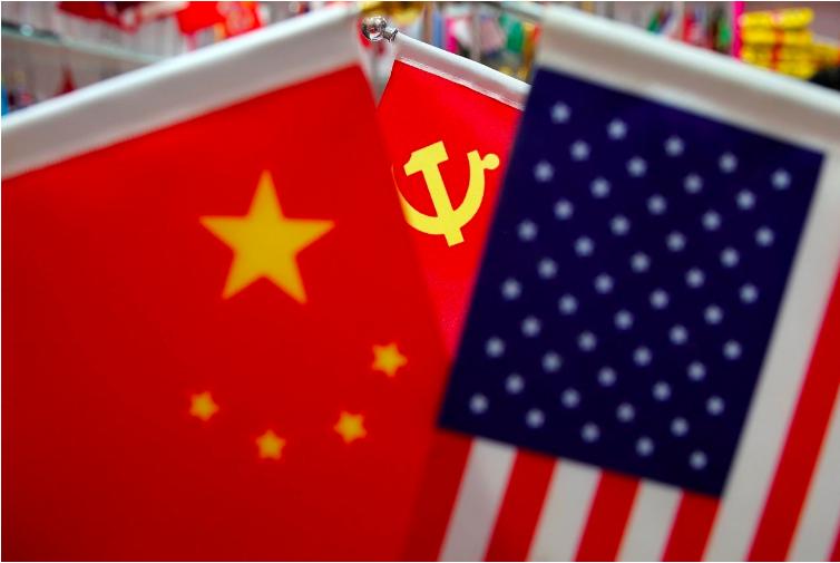 美中貿易戰開打,全球經濟展望也蒙上陰影。路透