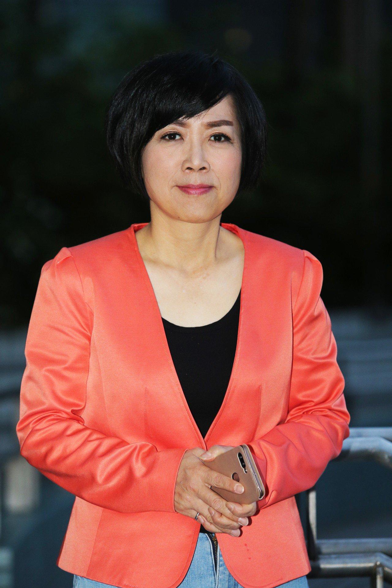 黃智賢表示只要華為繼續做手機,她都會買華為手機。本報資料照