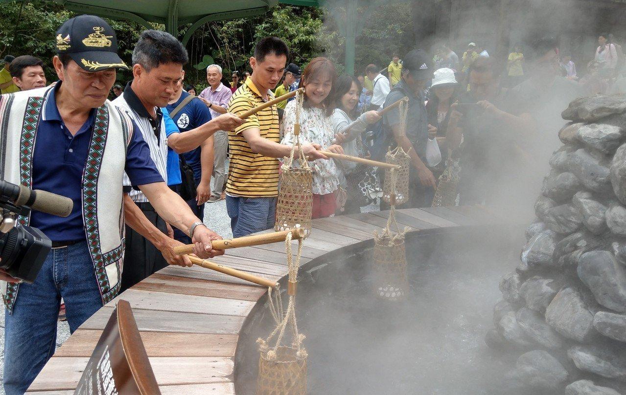 太平山鳩之澤煮蛋區啓用 比人氣景點清水地熱更吸睛