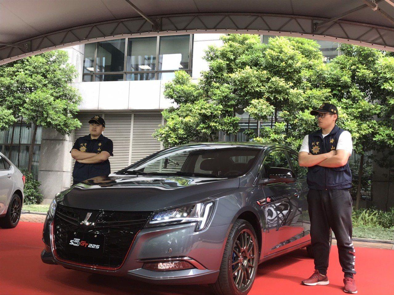納智捷捐贈警用偵防車2台 提升新北警執勤安全