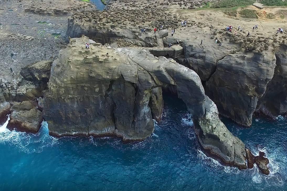 新北市農業局明天舉辦「象鼻岩是否依文化資產保存法劃設為自然紀念物」公聽會。圖/基...