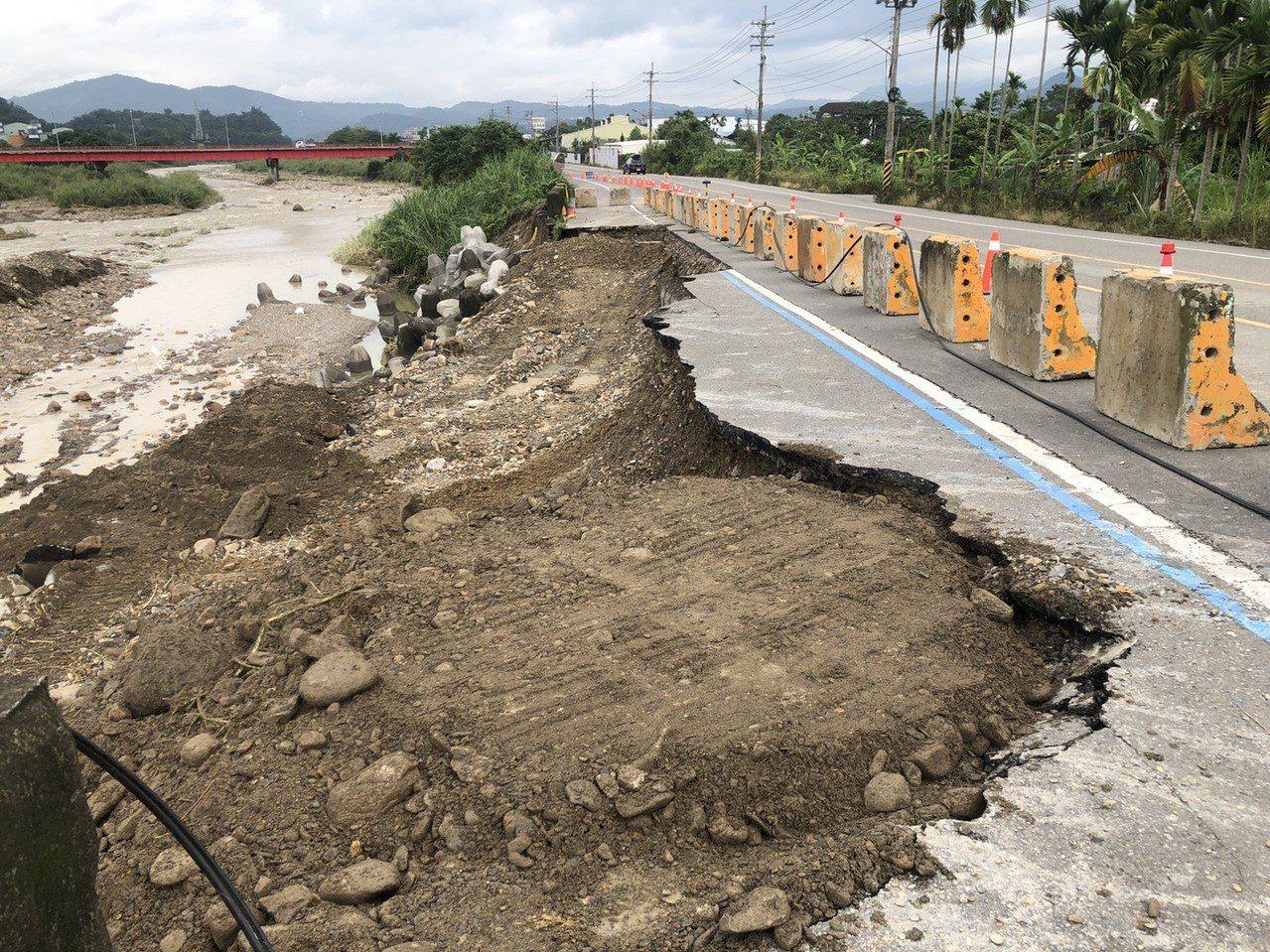 雨災過後南投縣府動員搶救交通 災修工程動起來