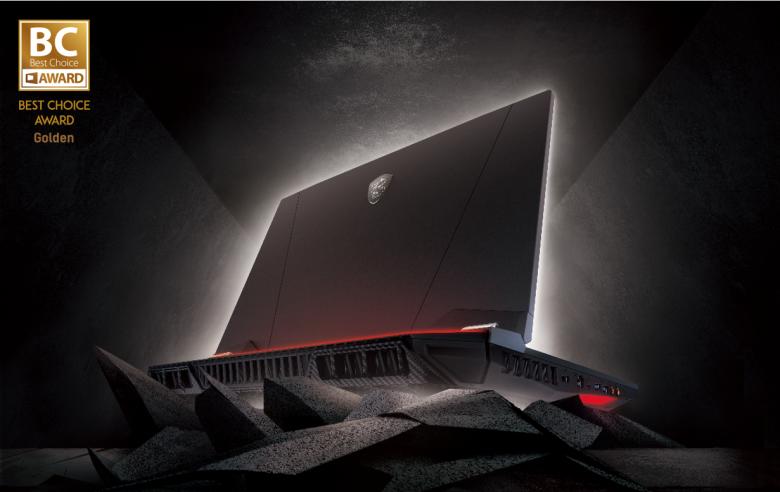 MSI GT76 Titan電競筆電旗艦機皇。 圖/微星提供