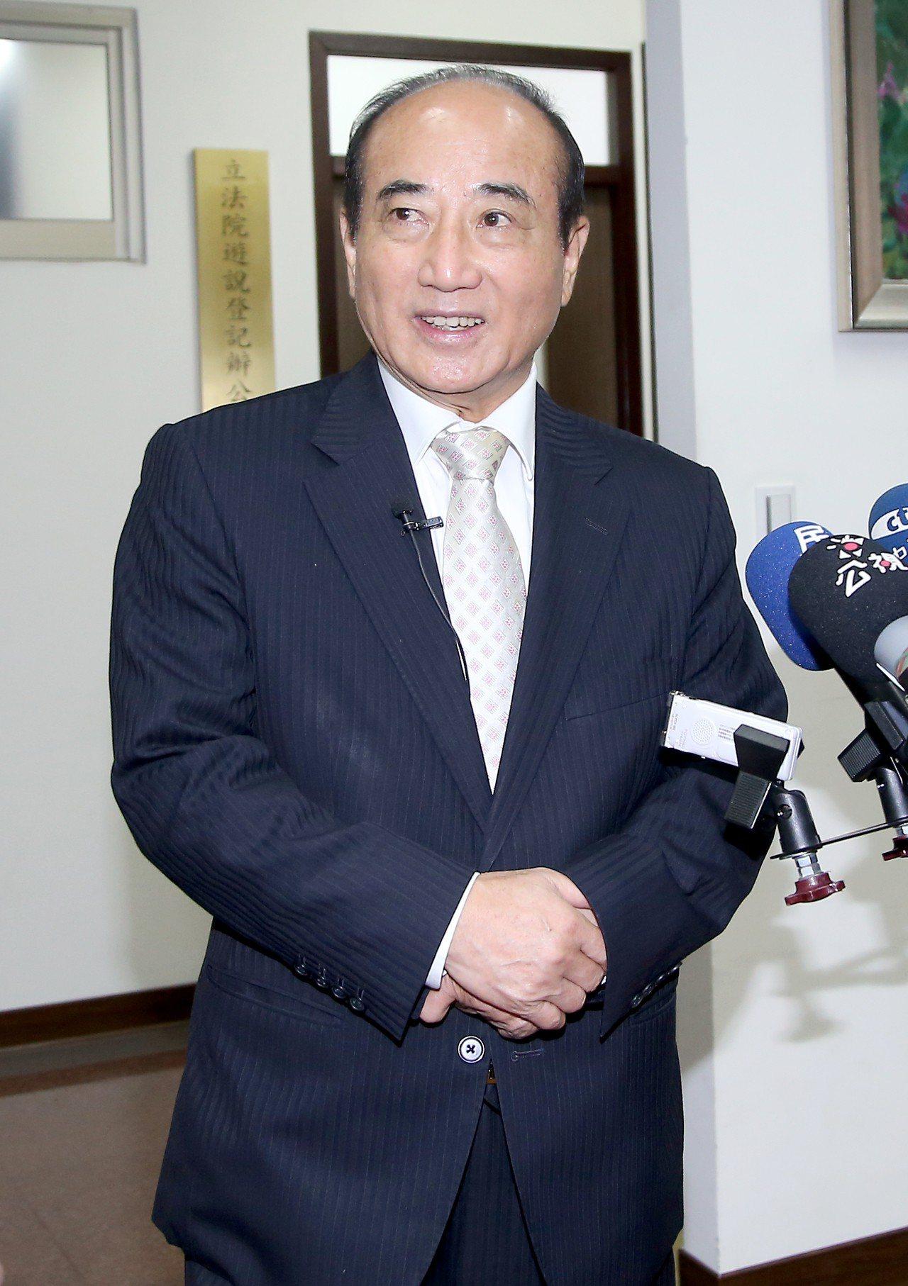 國民黨立委王金平。記者余承翰/攝影
