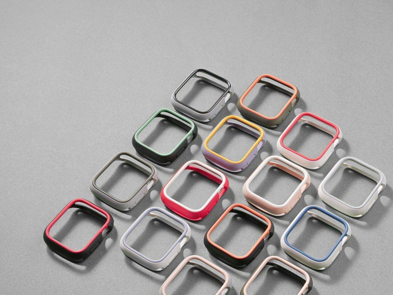 犀牛盾一口氣推出7色外框、11色飾條,可任意搭配購買。圖/犀牛盾提供