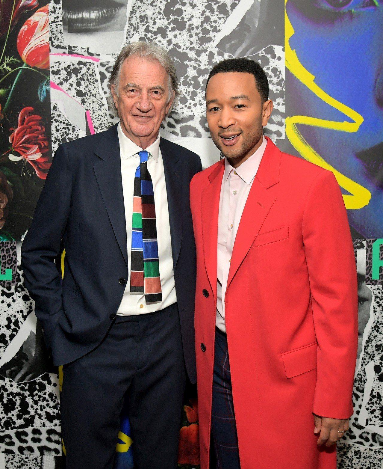 英國設計師Sir Paul Smith與歌手John Legend(約翰.傳奇)...