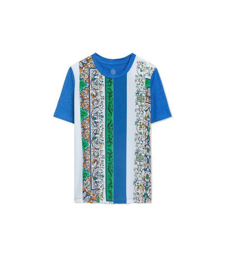 條紋T-Shirt,6,390元。圖/Tory Burch提供