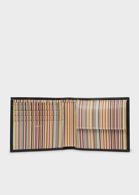 經典條紋零錢短夾,9,800元。圖/Paul Smith提供