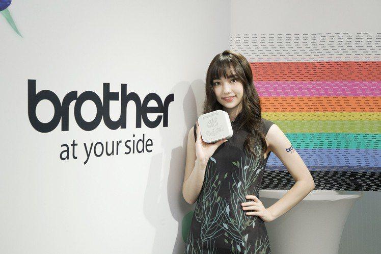Brother邀請圍棋女神黑嘉嘉擔任2019年品牌形象大使。圖/Brother提...