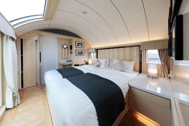 一節車廂就是一間獨立套房的「頂級套房」。圖/可樂旅遊提供
