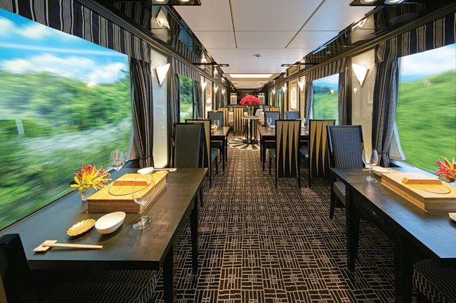餐車內提供的料理,由星級餐廳「菊乃井」、「HAJIME」操刀。圖/可樂旅遊提供