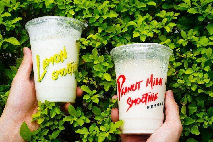 萊爾富限量推出綠豆殺牛奶冰沙、檸檬雪酪冰沙,以黃金比例重現台灣傳統冰品,打造清涼...