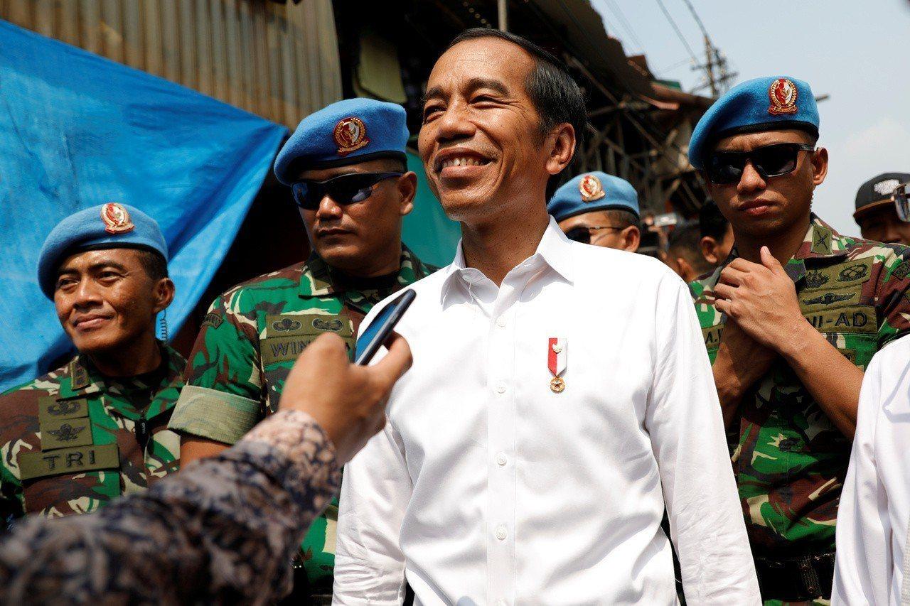 印尼總統佐科威。 (路透)