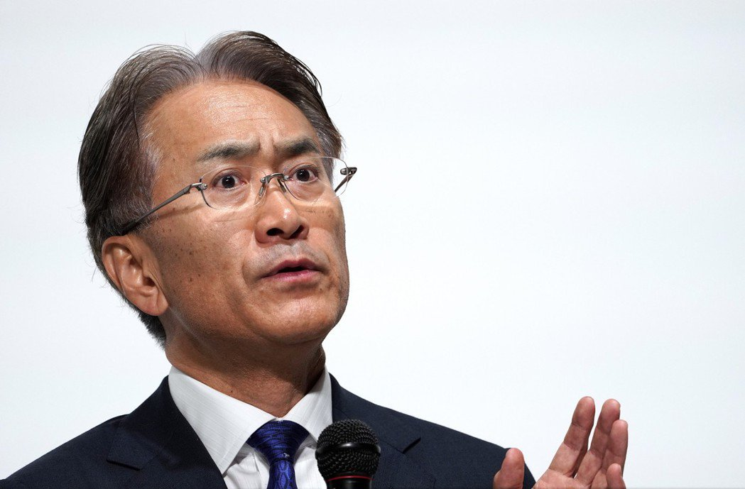 Sony社長吉田憲一郎。歐新社
