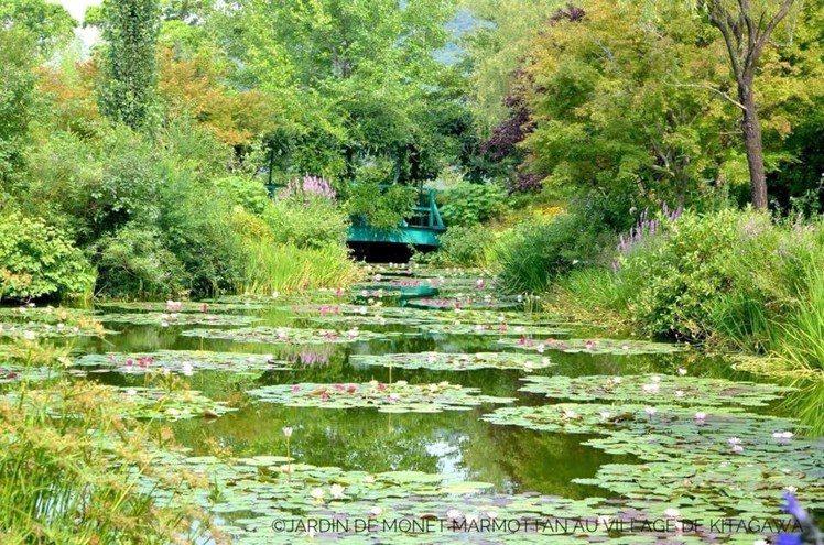 北川村「莫內之庭」馬摩丹,乃是經法國官方認證的海外莫內花園。圖/日本高知縣提供