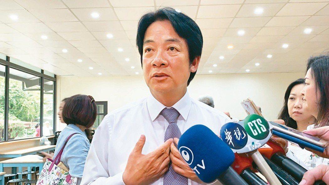 賴清德昨走訪新竹表示,一加一是團結的概念,可是團結要「真團結」。 記者陳斯穎/攝...