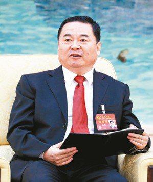 郝鵬將成為國務院國資委黨委書記、主任一肩挑。 (本報系資料庫)