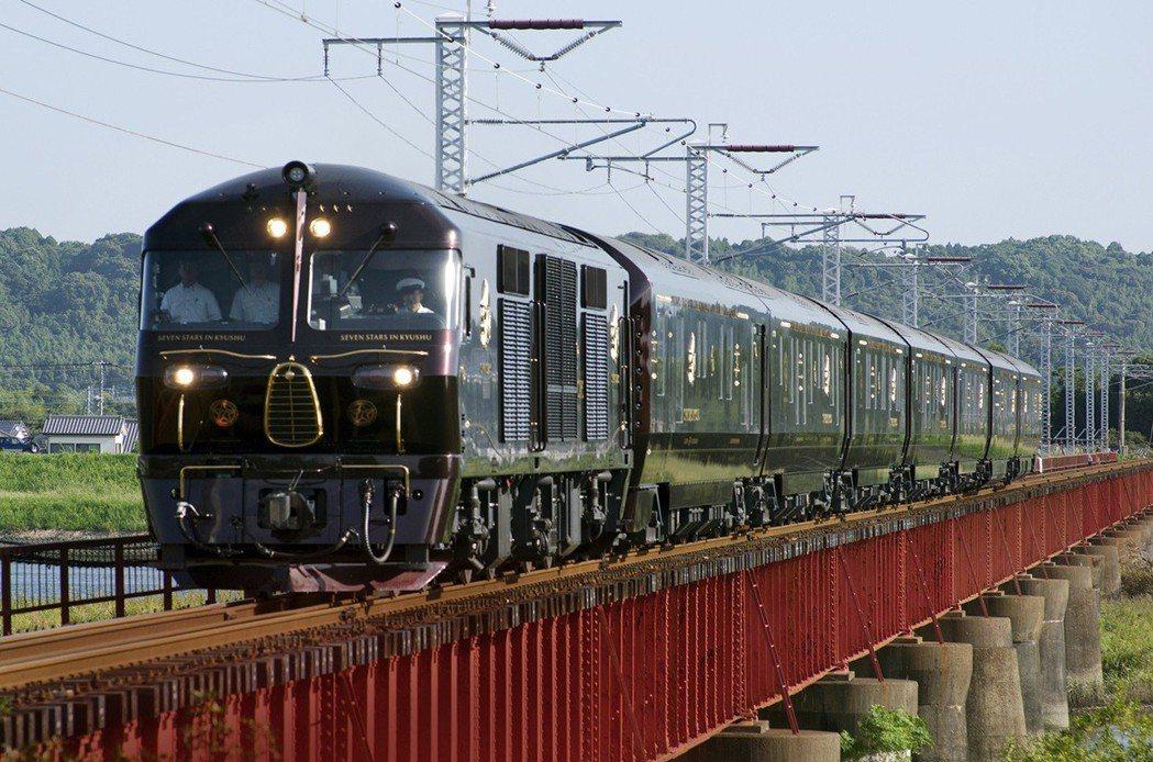 九州七星列車 圖/雄獅旅遊提供