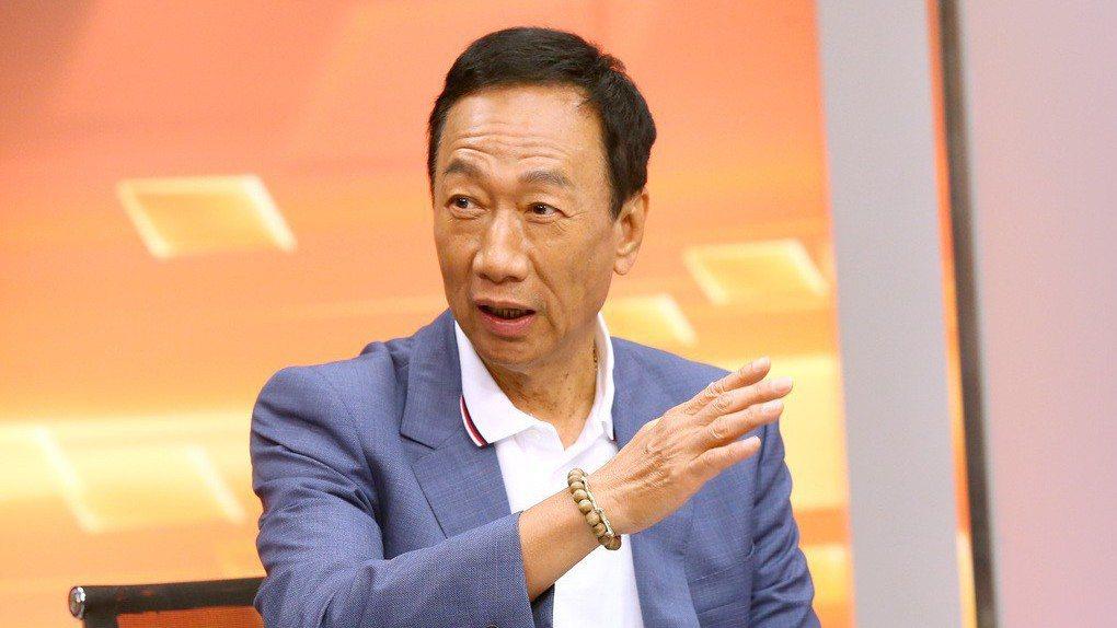 圖為鴻海董事長郭台銘。 記者高彬原/攝影