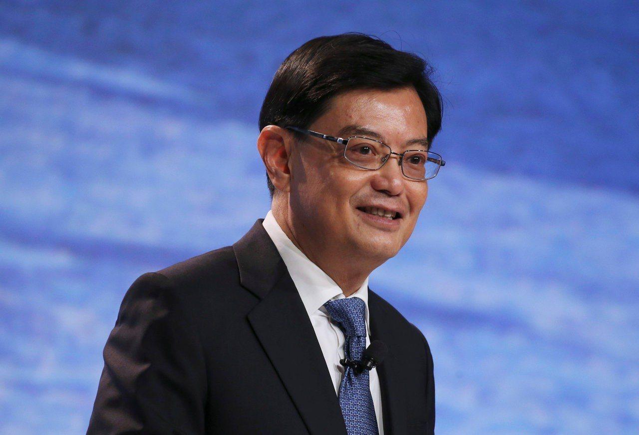 星國副總理兼財政部長王瑞杰。路透