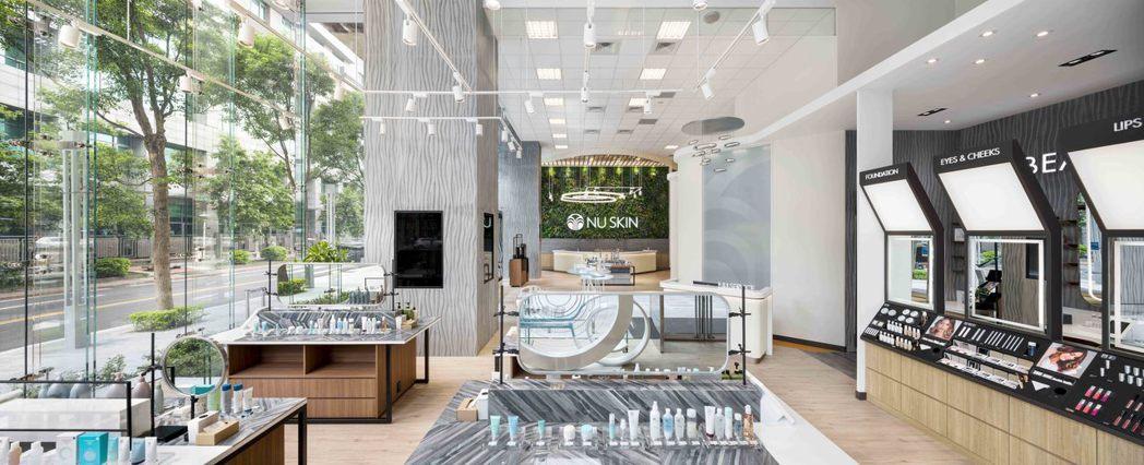 台北最耀眼綠能鑽石,NU SKIN鉅資打造頂級互動空間。 NU SKIN /提供