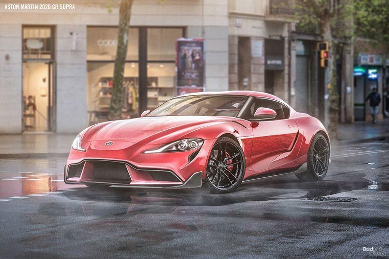 Supra加上那個前氣壩,完全就是Aston Martin形狀了。 摘自Budg...