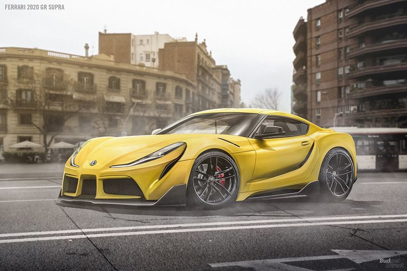 撇除那奇怪的頭燈,Ferrari的元素還是很吸引人。  摘自Budget Di...