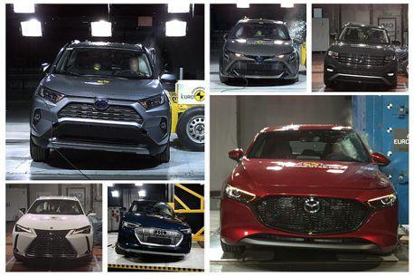 新Mazda 3、Toyota RAV4、Lexus UX入列!歐盟Euro NCAP公布最新測試報告
