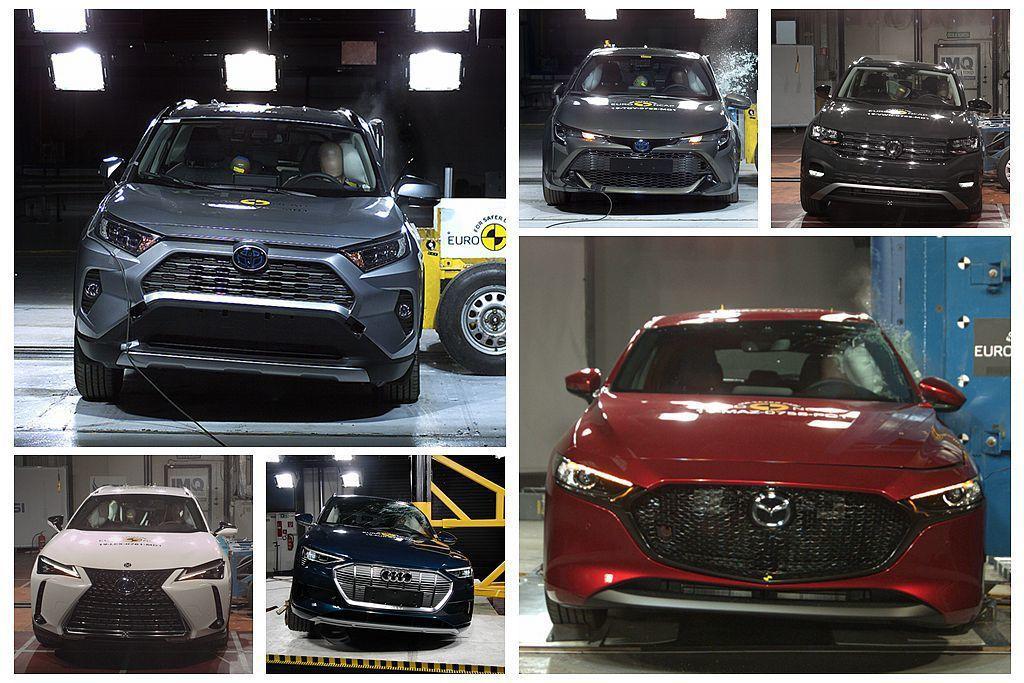 全球新車安全測試權威Euro NCAP公布數款新車測試成績,包括Toyota R...