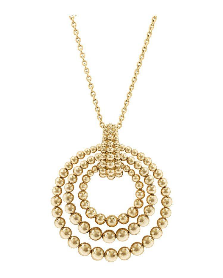 梵克雅寶Perlée couleurs可轉換式長項鍊,黃K金款,65萬5,000...