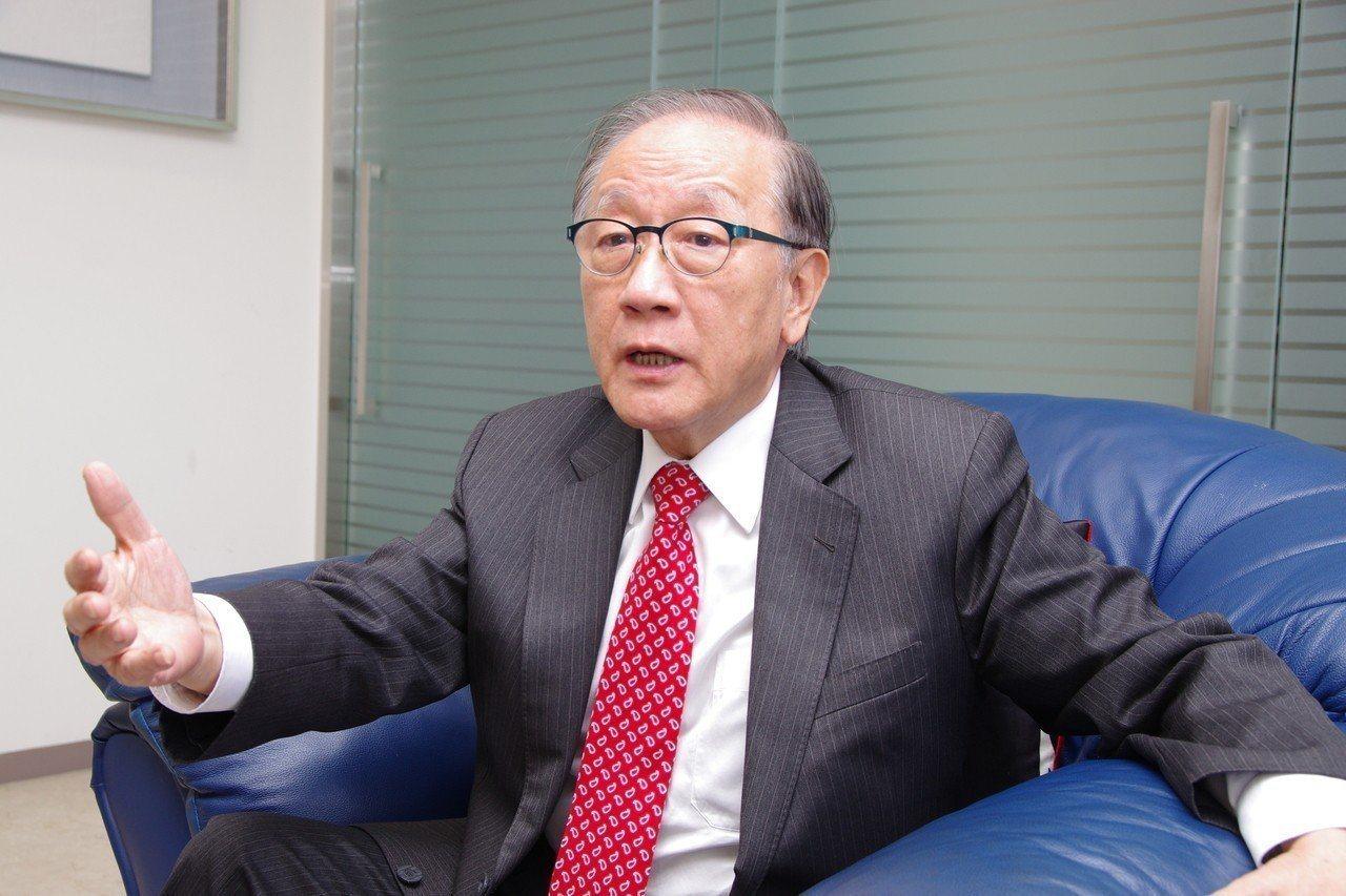 新黨主席郁慕明。本報系資料照